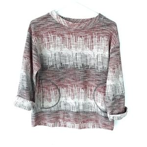 Anthro Postmark Textured Pullover Sweater